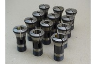 (12) Germany  Machinist Collet Set , 1/8-13/16""