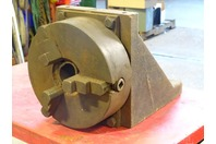 3 Jaw  Lathe Chuck Right Angle Fixture , 9""