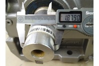 Nord DriveSystems  Right Angle Gear Box Reducer 64.55:1, 32100 180TC1