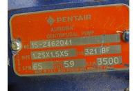 Pentair Aurora  2HP Centrifugal Pump  1.25 x 1.5 x 5, No. 15-2462041