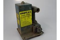Simplex  Upright Hydraulic Hand Pump  Oil Capacity 148 CU. IN , P160A Series