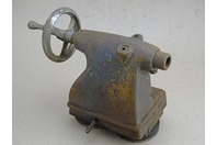Vintage Metal Lathe Tail Stock with Morse Taper , Horzontial