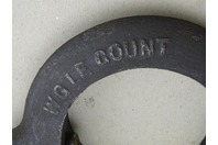 WGIE Count  Bent Tail Lathe Dog  , No. 18