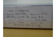 Matsushita Seiko Co.   , IT-61061048