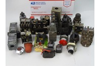 Assortment  Allen Bradley  , Switches , Buttons, Contactors