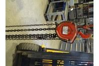 Milwaukee  2-TON Chain Hoist, Manual Chain Fall Cat No., 9513