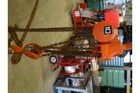 Columbus Mckinnon 10-TON Chain Hoist, Manual Chain Fall, 20,000 LB. , 2580 03