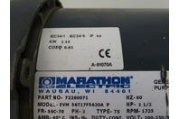 Marathon  1-1/2HP AC Motor  230/460v, 72260071