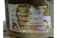 Alemite  Pneumatic Grease Pump & Dolly , PML