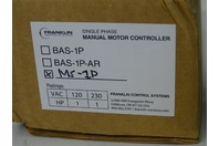 Franlin Control  Single Phase Manual Motor Controller  , MS-1P