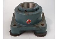 """Dodge 4"""" Four-Bolt Square Roller Bearing Unit F4B-E-400R, 023117"""