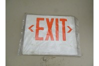 Plastic  Exit  Sign Face Panel , Signs
