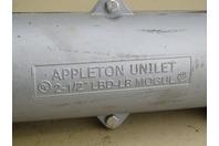 "Appleton Unilet  Mogul Conduit Body 2-1/2"" , LBD-LB Mogul"