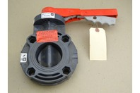 """Spears  2-1/2"""" Poly Butterfly Valve 150PSI , 0117222 EPDM"""