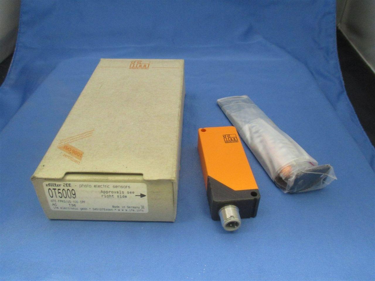 Ifm Efector Ot5009 Ote Fpkg Us 100 Ipf Photoelectric