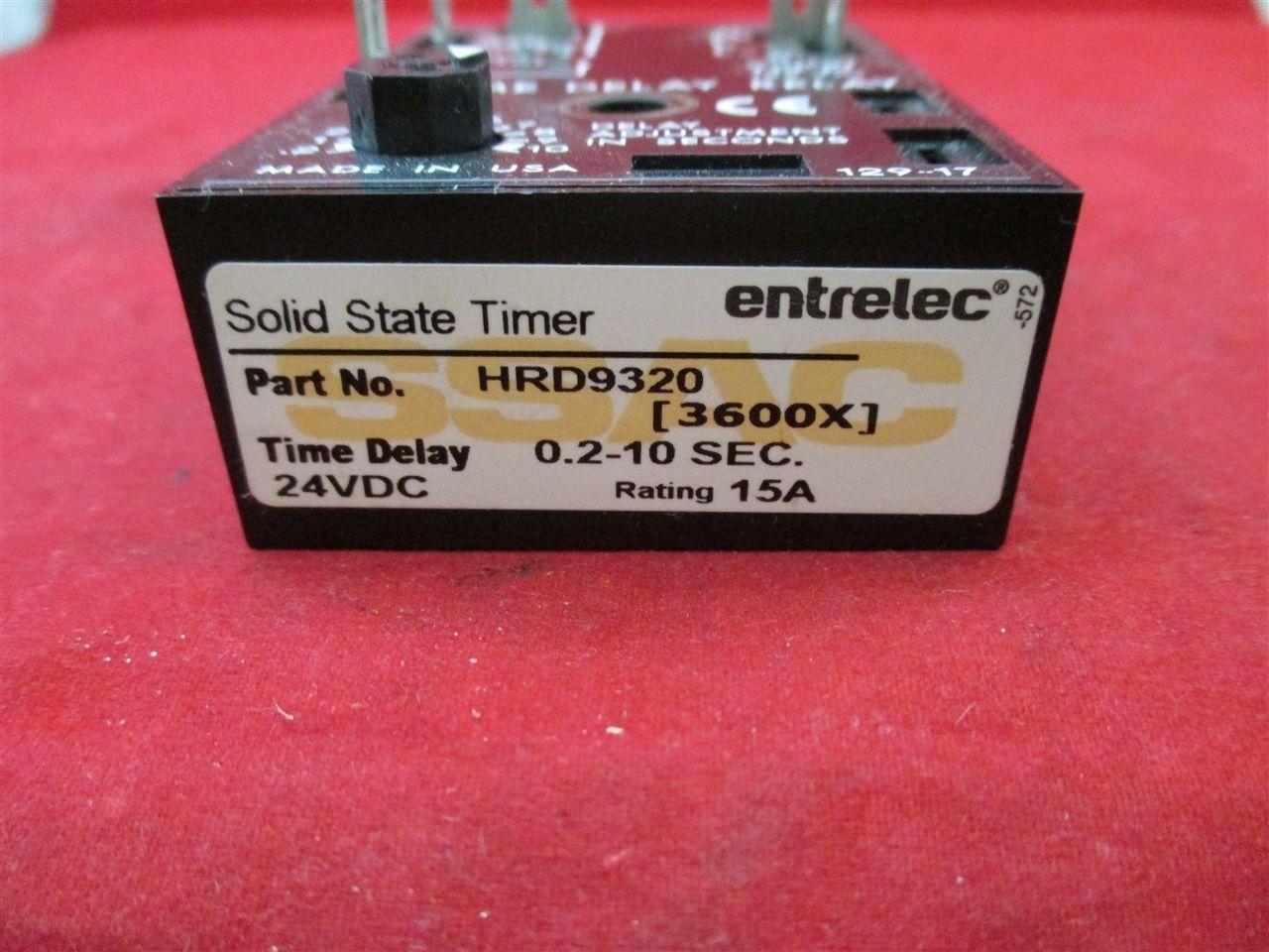 Ssac Entrelec Hrd9320 Solid State Timer