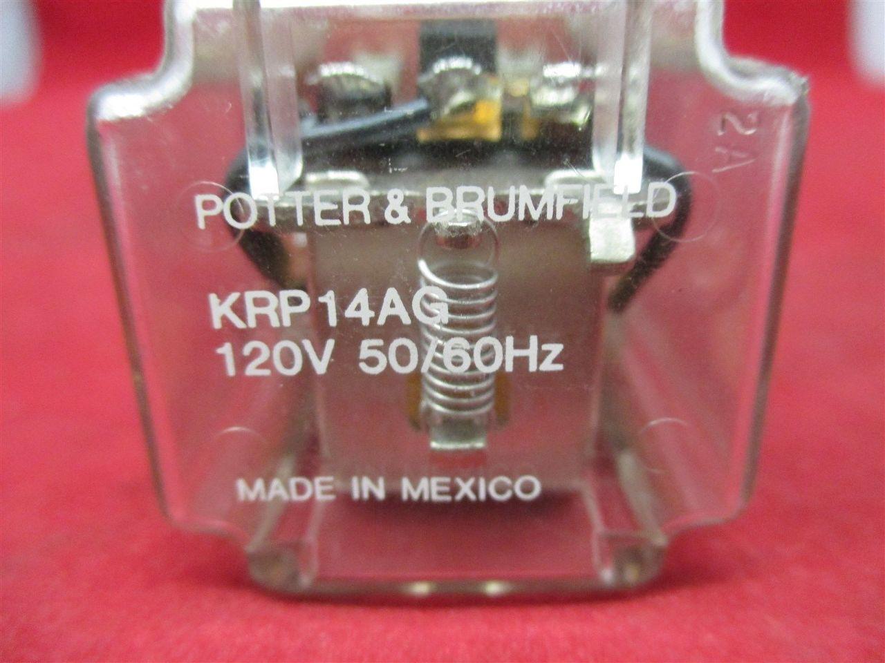 Potter  U0026 Brumfield Krp14ag Relay