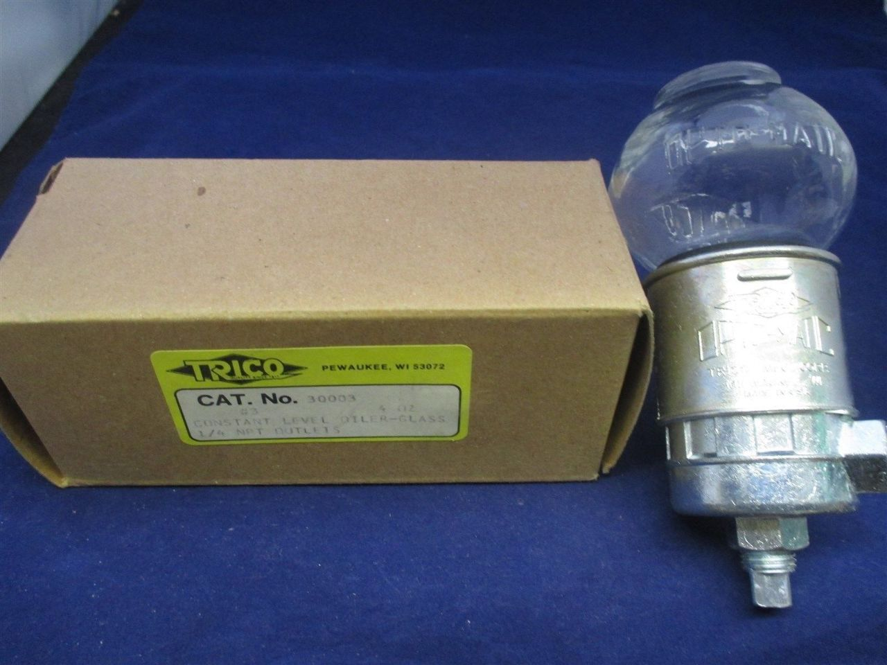 Trico 30003 Contstant Level Oiler-Glass new