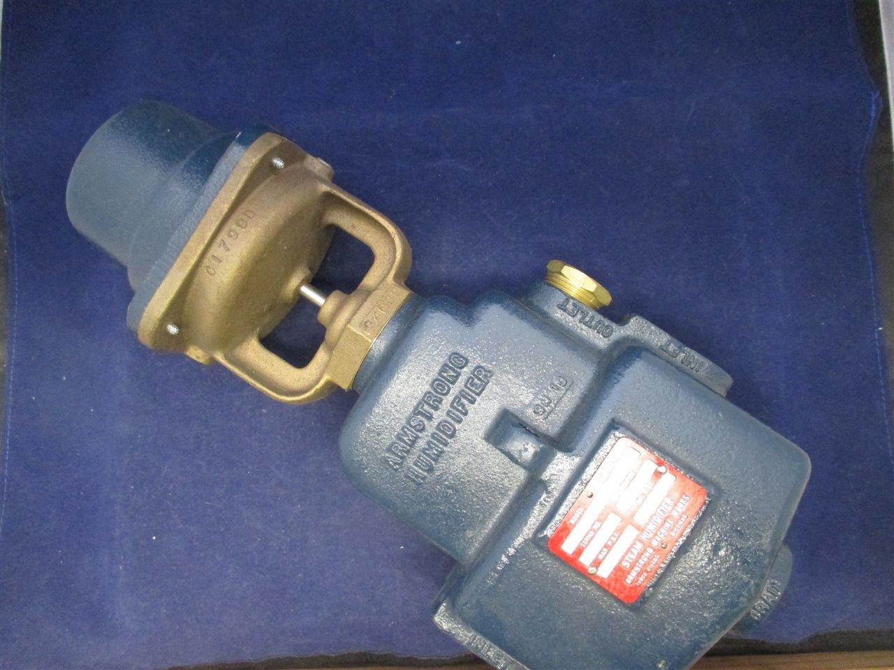 Armstrong Steam Humidifier Am 91 Process Industrial Surplus