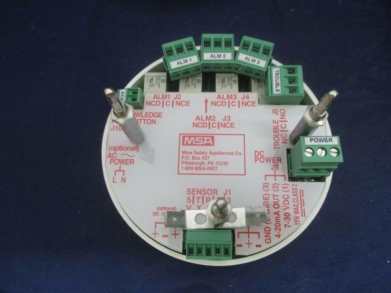 Msa Ultima Xe W Xir Sensor Gas Monitor New Process