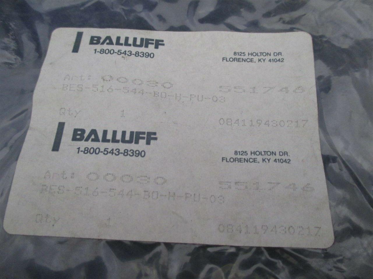 Balluff Bes 516 544 Bo H Pu 03 Sensor Process Industrial