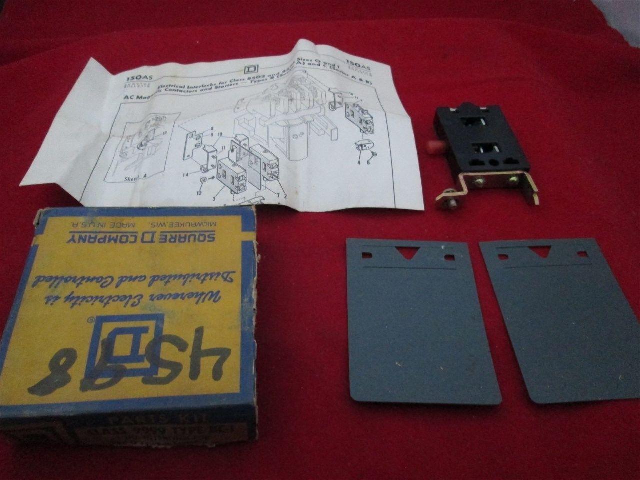 Square D 9999 BC-1 Electrical Interlock Parts Kit