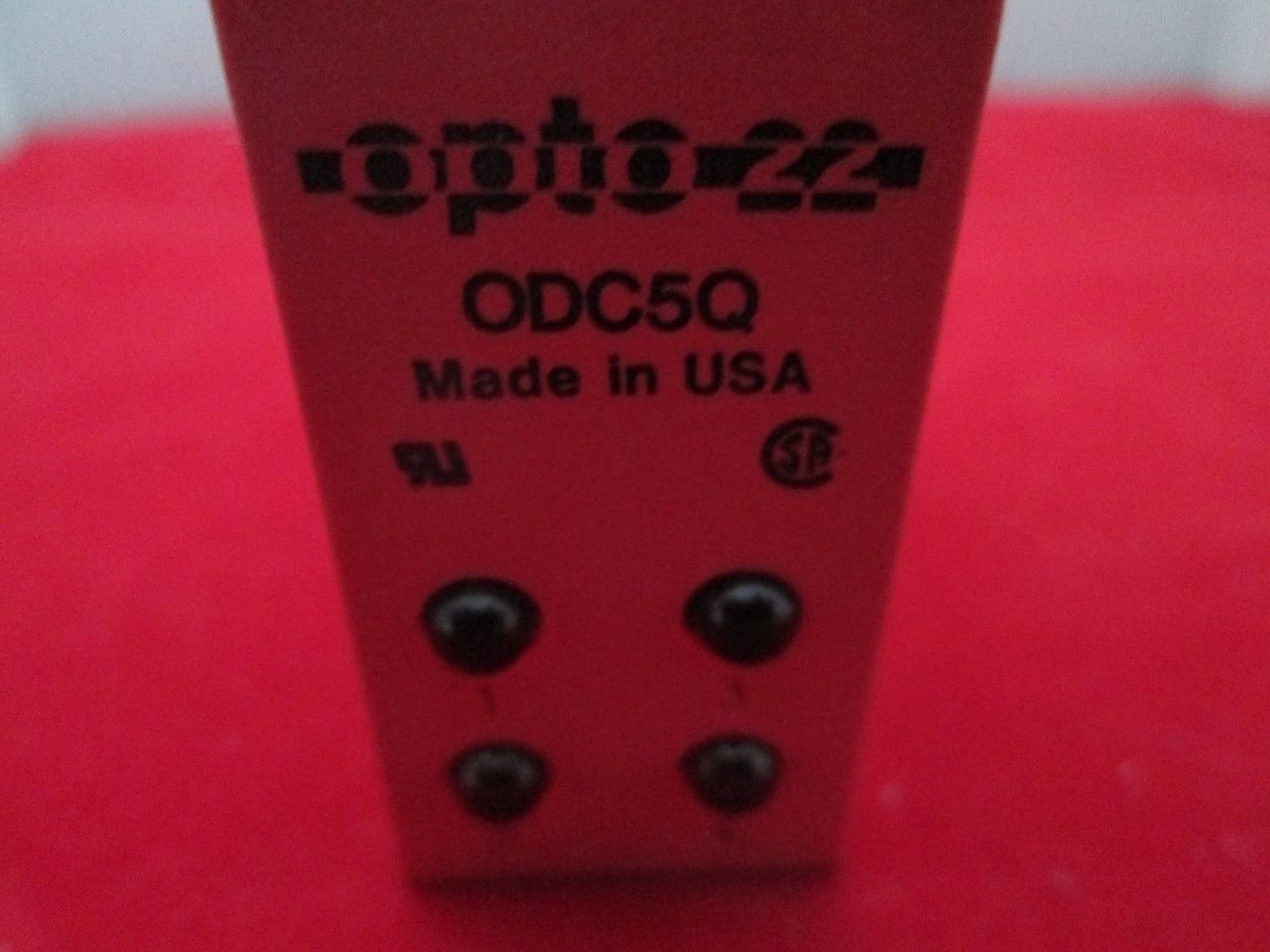 opto 22 odc5q relay process industrial surplus. Black Bedroom Furniture Sets. Home Design Ideas