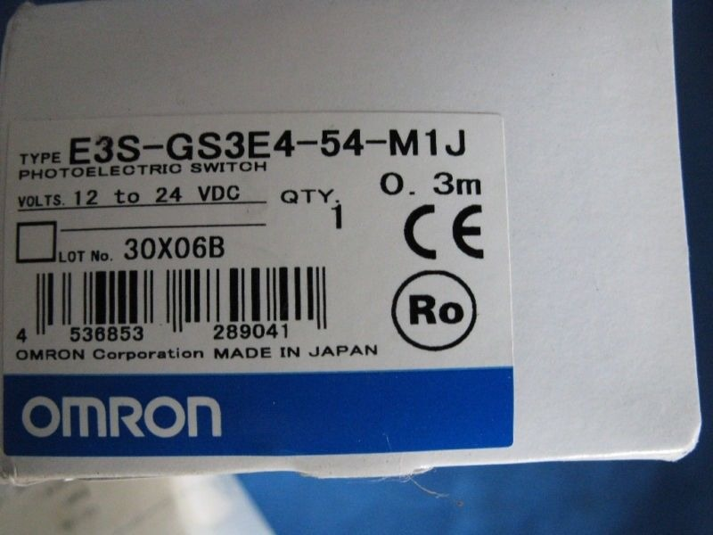 Omron E3S-GS3E4 photoelectrio switch NEW