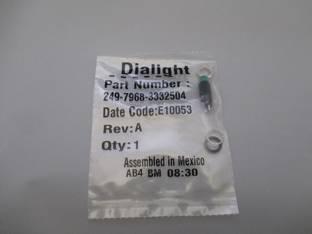 Dialight 249-7968-3332504 LED Panel Mount Indicator
