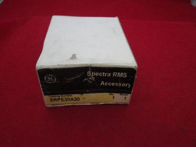 GE General Electric SRPE30A30 Spectra RMS Trip Unit new
