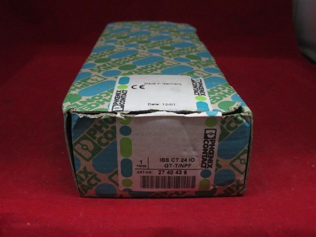 Phoenix Contact IBS CT 2410 GT-T/NPF 2740436 new