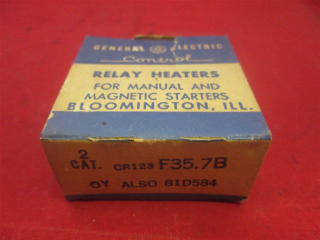 General Electric CR123F35.7B Heater