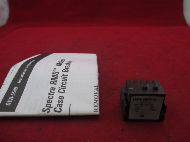 GE SRPE7A3 Spectra RMS new