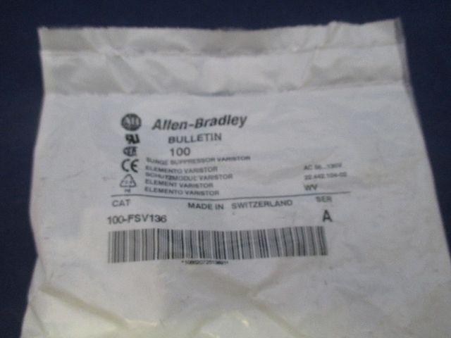 Allen Bradley 100-FSV136 Surge Suppressor  new