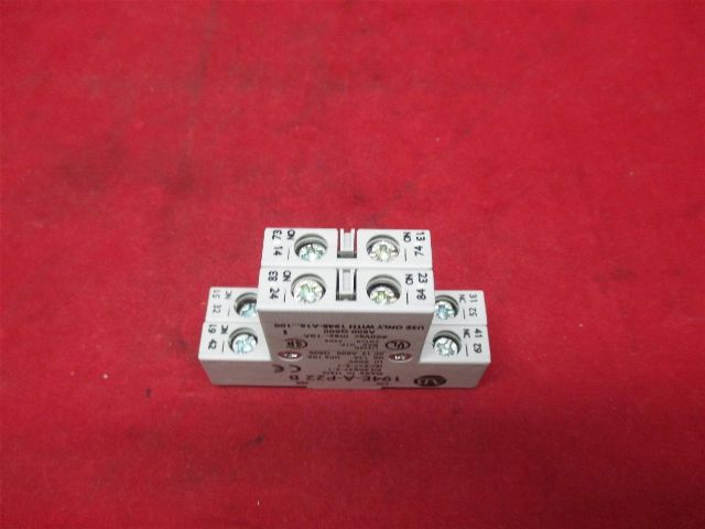 Allen-Bradley 194E-A-P22 Auxiliary Contact Block