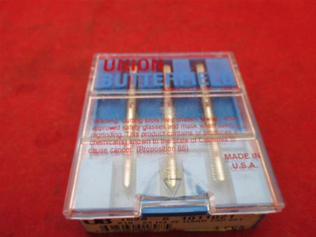 Union Butterfield 1011021 #10-24 H3 4F hand Tap set 1528-S