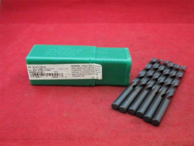 Precision 029075 Jobber Length 2AB 7.50 HSS Black Oxide