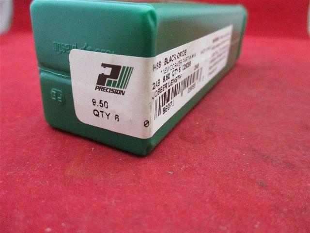 Precision 029095 Jobber Length 2AB 9.50 HSS Black Oxide