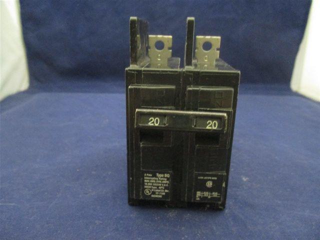 Siemens BQ2B020 20 amps Circuit Breaker