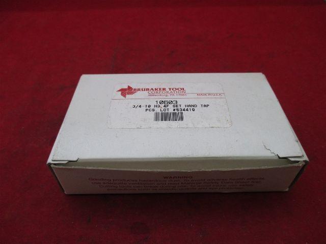 Brubaker Tool 10603 HSS Hand Tap 3/4 D-10 H3