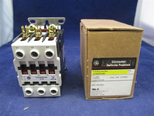 General Electric  453AB3HAM Contactor new