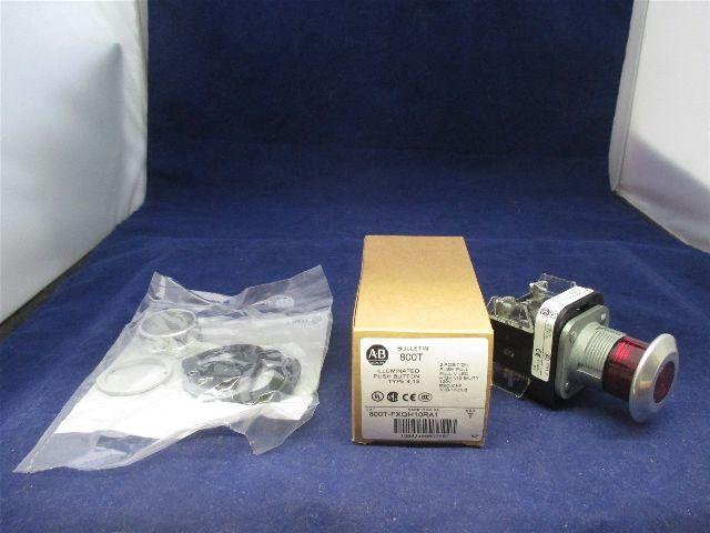 Allen-Bradley 800T-FXQH10RA1 Illuminated Push Button new