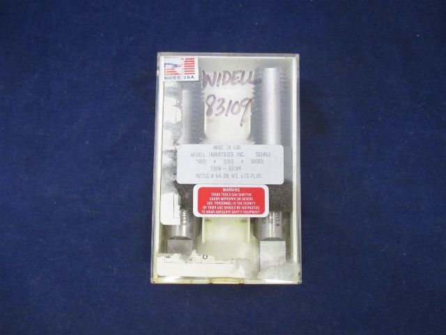 Widell Industries M27X3.0 6H D8 4FL 83109