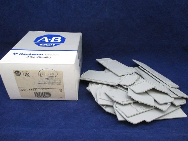 Allen-Bradley Terminal Covers 1492-TC4Q Box of 25new