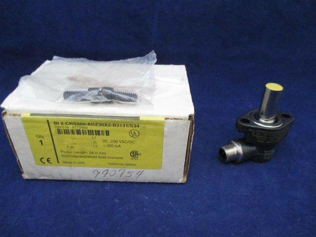 Turck BI2-CRS260-ADZ30X2-B3131/S34 4275493 Sensor new