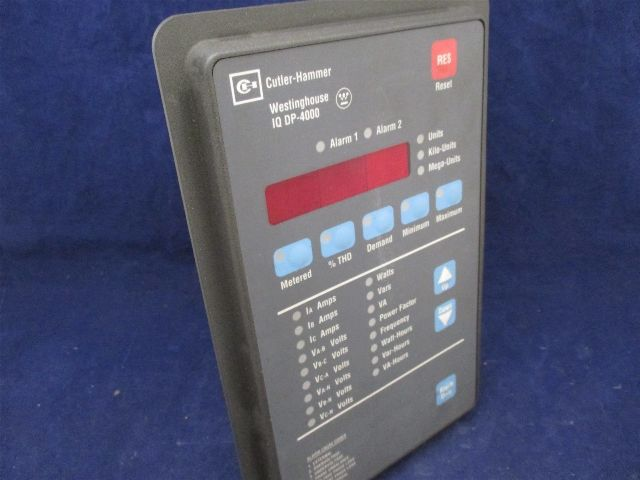 Cutler Hammer Westinghouse Iq Dp 4000 8793c07g01 Power