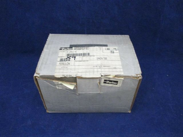 Parker Ferulok Union Tee 8 JBU-S Lot of 9 new