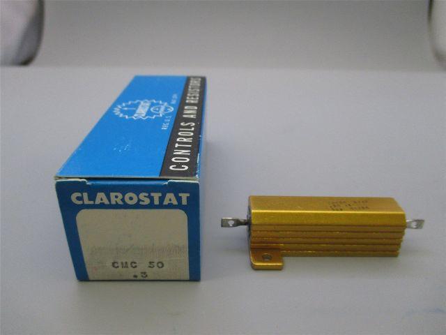 Clarostat CMC50 9117  . 3 ohms 1% 30 watt Lot of 7