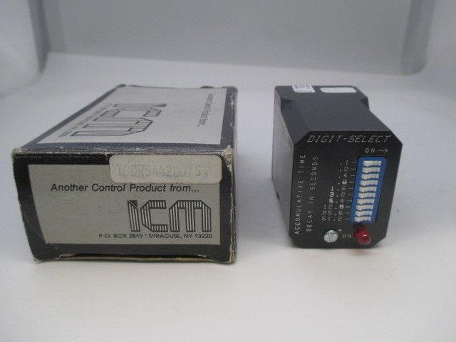 ICM TBDR5442DD7S Timing Relay  new