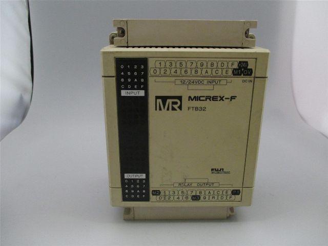 Fuji Electric FTB32R  Expansion Modules-EXPANSION UNIT16PT 16PT OUTPUT 12/24VDC